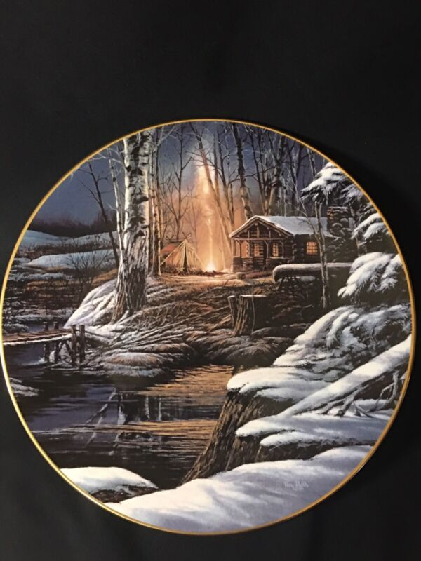 """""""Sharing the Solitude"""" Terry Redlin Collectors Plate 9 3/8"""""""