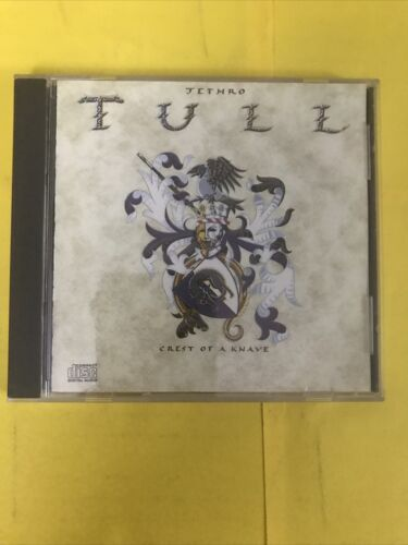 Crest Of A Knave By Jethro Tull CD, Aug-2000, Chrysalis Records  - $5.00