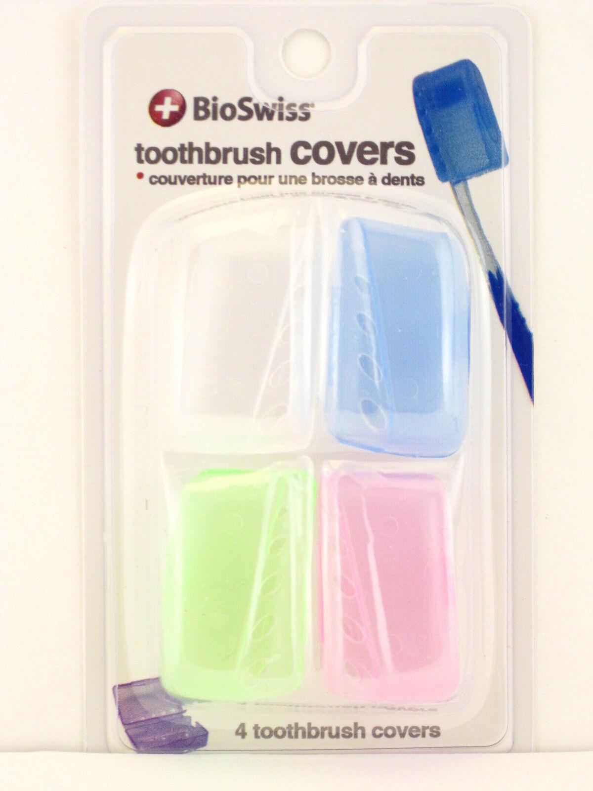 Bio Swiss Toothbrush Covers Set of 4
