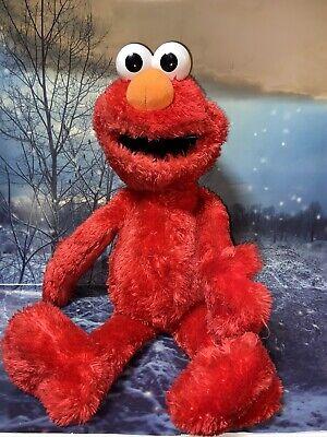 "Sesame Street Large Elmo 21"" plush toy stuffed animal plushie peluche"