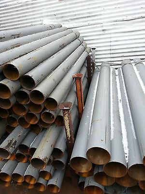 Steel Round Pipe 6-58 O.d.x 9-ga X 24 Pipe Ballard