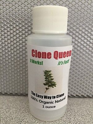 Clone Solution - Clone Queen 1oz Hydroponics Rooting Propagation Solution