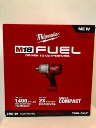 Milwaukee 2767-20 M18 FUEL 1/2 High Torque Impact Wrench with Friction Ring NIB