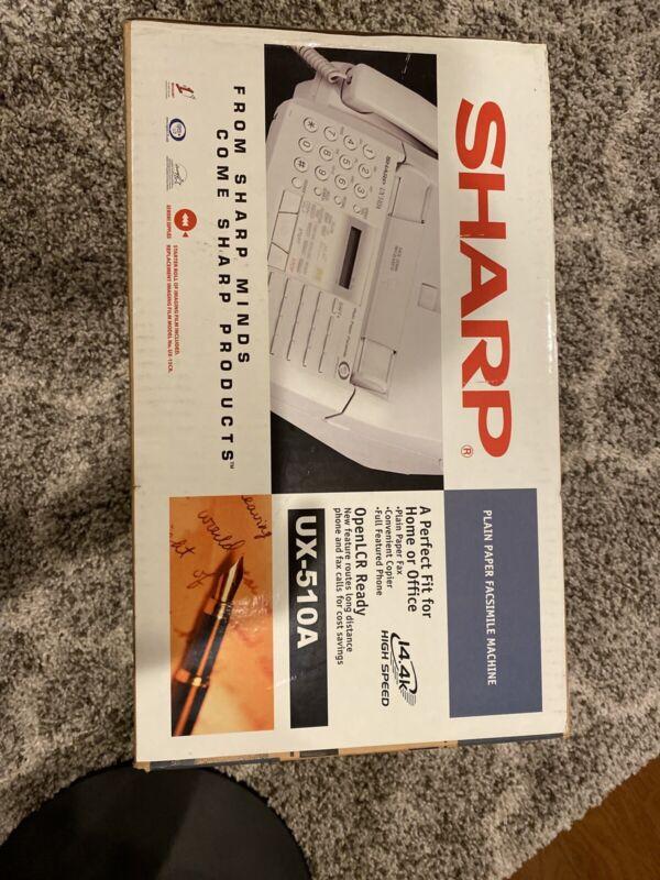 NEW IN BOX Sharp UX-510 Facsimile Fax Machine 1997