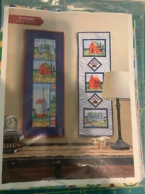 JIM SHORE COUNTRY VILLAGE Wallhanging Quilt Kit 14