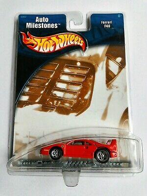 Hot Wheels Auto Milestones Red Ferrari F40