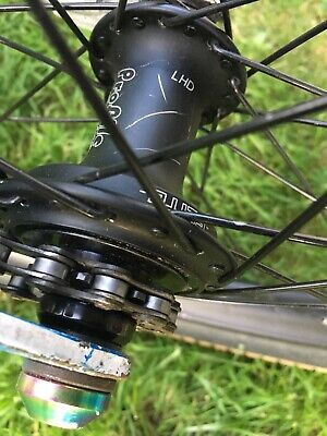HUB AXLE Set Action BMX Rear NO RETAINERS Included