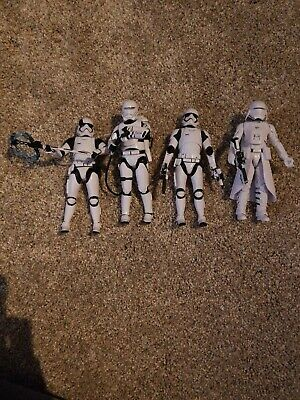 Star Wars Black Series 6 Inch First Order Lot Loose