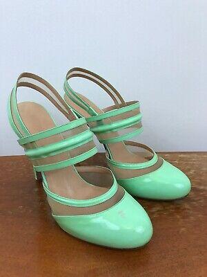 Versace Versus Patent Leather High Heel Shoes EU 41 UK 7