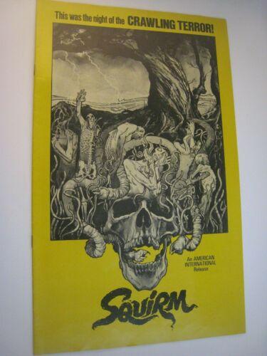 1976 PRESSBOOK    SQUIRM   HORROR