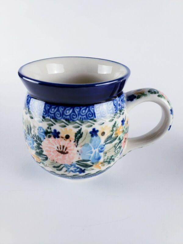 Polish Pottery Ceramika Artystyczna Unikat 12 oz Medium Bubble Mug Starzyk 1754