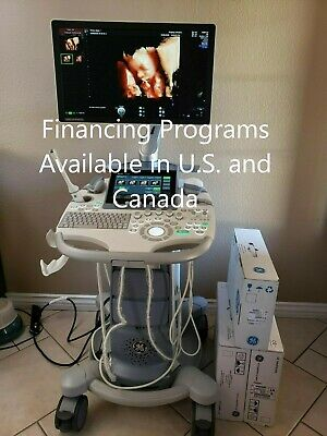 Ge Voluson S10 Ultrasound Bt16 With 3 Demos Probes With 23 Display