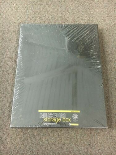 """Lineco Museum Storage Box 14"""" x 17"""" for Art Prints & Photographs New Sealed"""