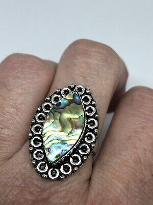 Gebraucht, Vintage Silber Regenbogen Abalone-Muschel gebraucht kaufen  Versand nach Germany