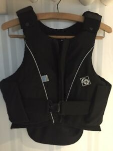 Charles Owen jL9 equestrian safety vest Child's XL