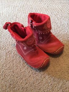 Size 5 red boots