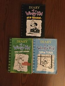 Diary of a Wimpy kid and Captain Underpants