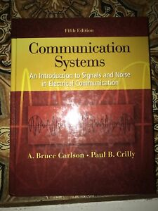 Communication systems by Carlson and Crilly