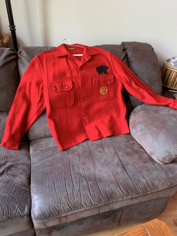 Official BSA Red Wool Jacket -