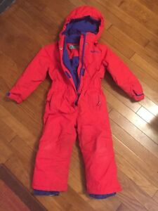 Snowsuit size 3-4