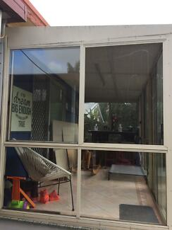 Glass Windows and Sliding Door