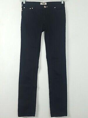 Acne Jeans Womens kex Wet Black Denim Size 28