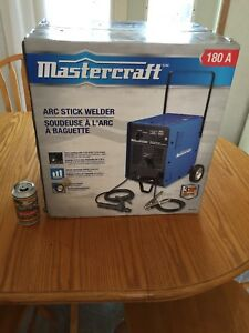 Mastercraft 180 Amp Stick Welder