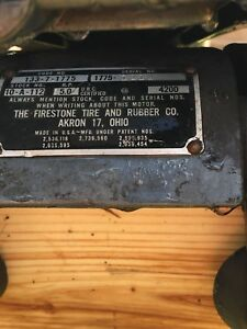 1955 Firestone 5hp outboard willing to part out