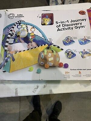 New Open Box Baby Einstein 5-in-1 Journey of Discovery Activity Gym Open Box