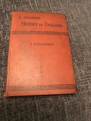 A Students History Of England Volume 2 Hardbook Book  By S R Gardiner 1896, used for sale  Shipping to South Africa