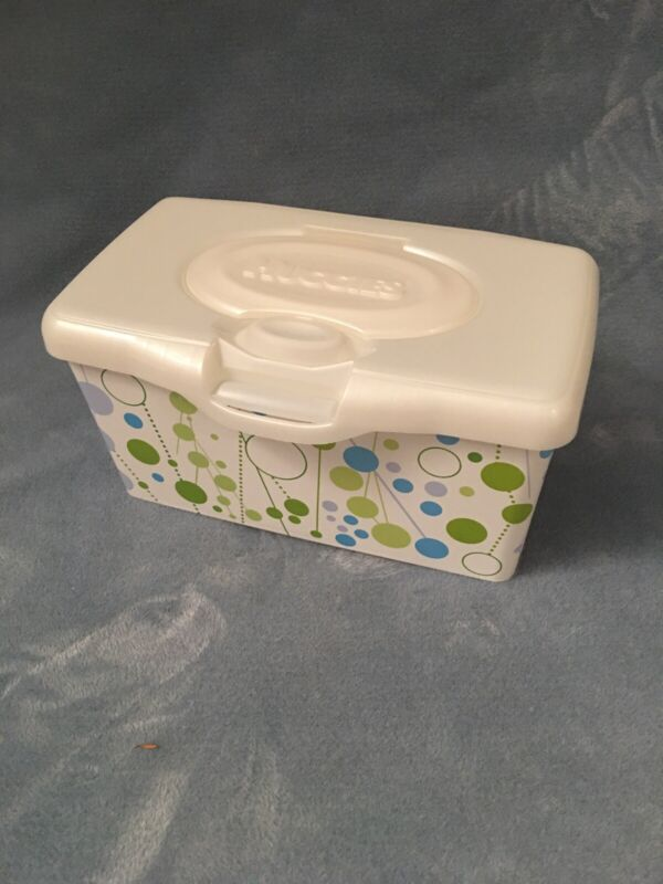 Huggies Wipes Container With Pop Up Lid Retro