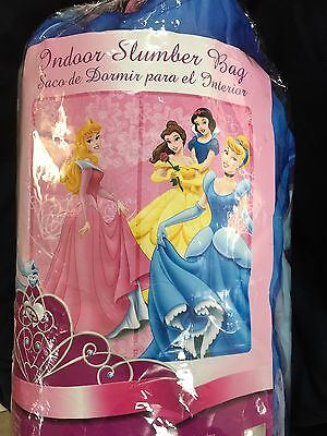 BRAND NEW Disney Princess Cinderella Bella Aurora Snow White Sleeping Bag ()