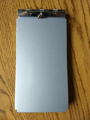 Used Saunders 10x5 Aluminum Citation Holder Clipboard Storage Compartment