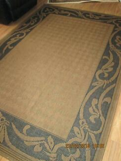 xlarge   RUG   with rubber backing   285cm by 200cm