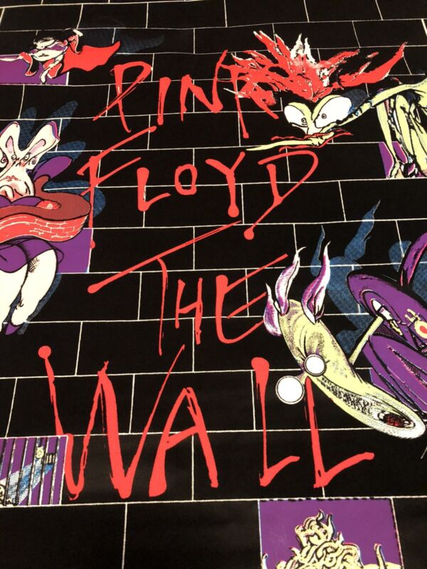 Pink Floyd *Brand New* VINTAGE The Wall Screamin Heads Black Light Poster 1994