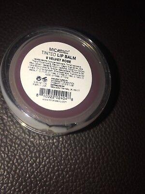 Mica Beauty Moisturizing tinted  Lip Balm Shade 9 velvet rose