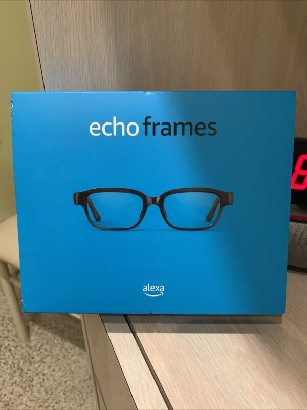 New Amazon Echo Frames (2nd Gen) Smart Glasses w/Open-ear Audio and Alexa, Black