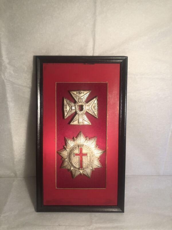 Vintage Knights Templar Wall Art