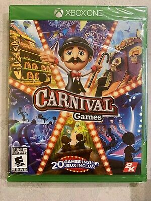 Carnival Games 20 Games XBox One NEW & Sealed Canada Microsoft