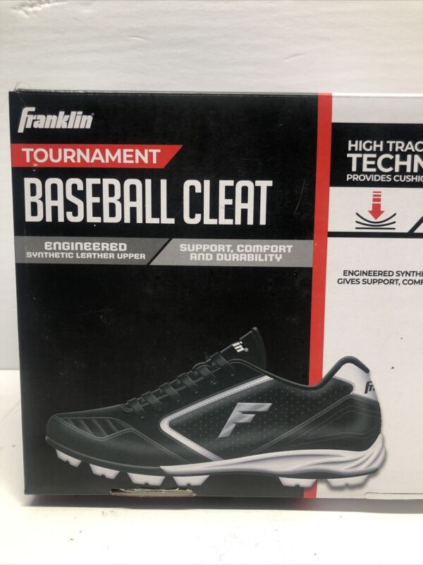 Franklin Tournament Baseball Cleat Boys Shoes Youth Size 10 Toddler Sports