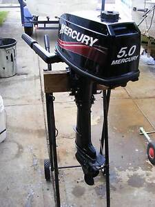 MERCURY 5hp OUTBOARD AS NEW Nowra Nowra-Bomaderry Preview