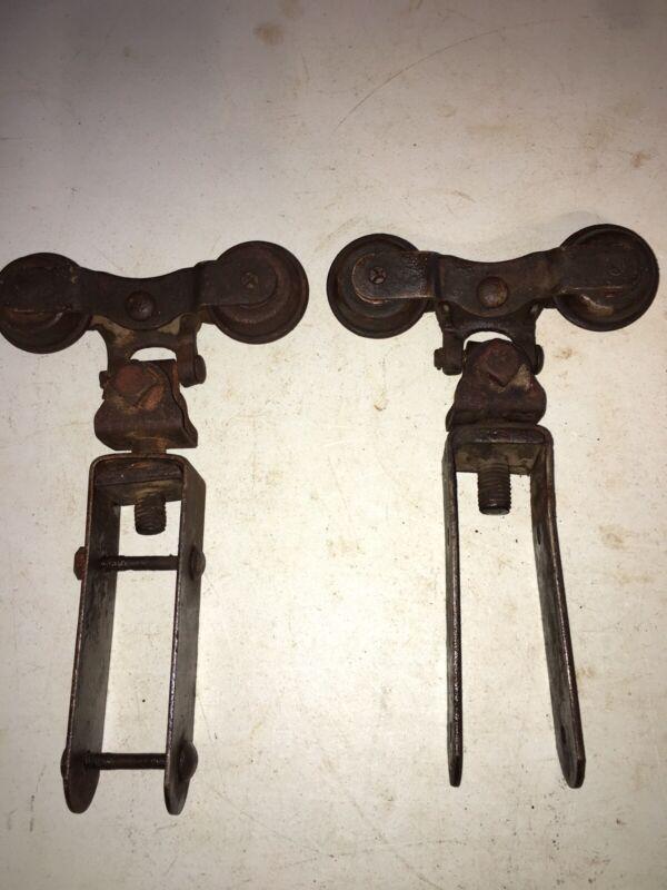 Antique Barn Door Rollers
