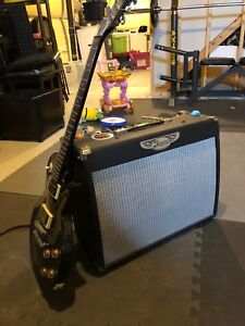 Traynor YVC40 Tube Amp and Epiphone Guitar