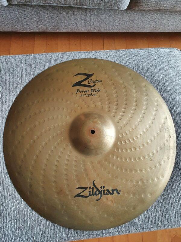 """Zildjian Z Custom 22"""" Power Ride"""