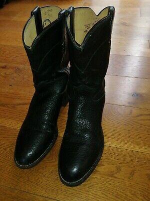 Men's Justin Cowboy Boots US 9.5 UK 8.5