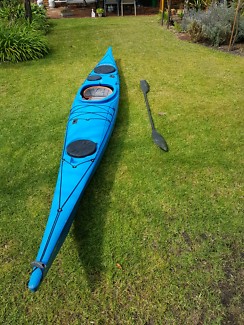 Great fishing kayak & paddle for sale