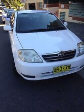 Toyota Corolla hatchback 2002 reduced for quick sale only 5400 Regents Park Auburn Area Preview