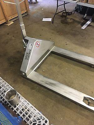 Schneider Robusto 2300 Stainless Steel Pallet Jack 5070 Lbs.
