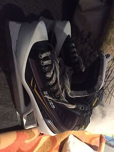 Bauer one.9 size 11 D w/ step steel