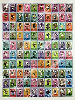 NEW Animal Crossing Amiibo Cards - Series 3 (#201-300) [US Version] PICK CARDS